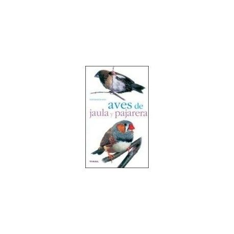 Libro de aves de jaula y pajarera