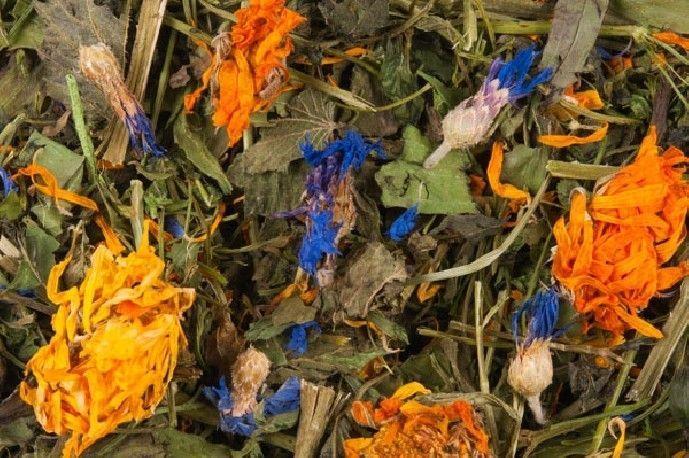 Mix de hierbas y flores