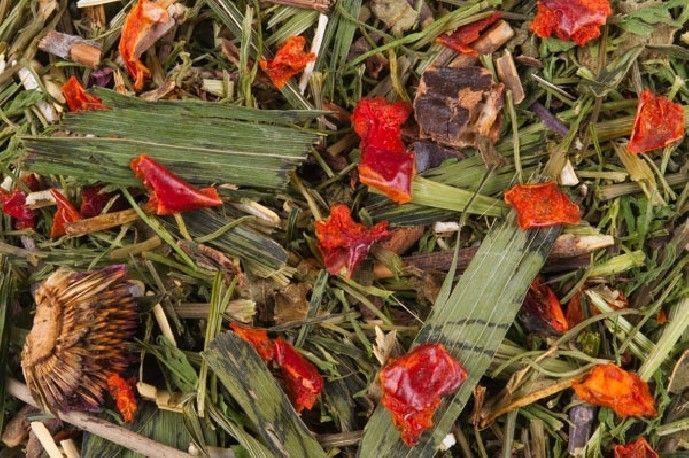 Mix de hierbas y pimientos