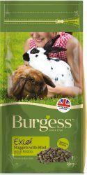 Burgess Excel para conejos adultos con menta.