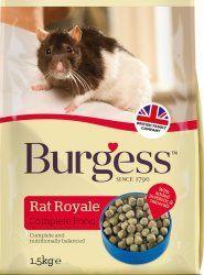 Burgess rata royale con pollo.