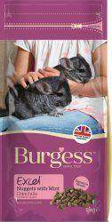Burgess Excel para chinchillas con menta