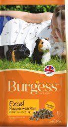 Burgess Excel para cobayas con menta