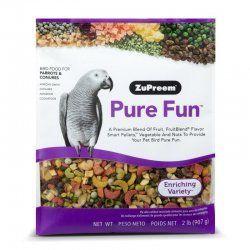 Zupreem Pure Fun loros medianos